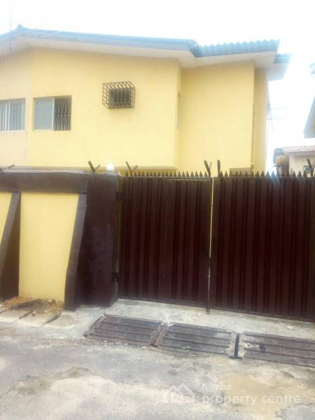 a Wing of Newly Renovated Four (4) Bedroom Duplex  with a Room Bq, Houston Wright Estate, Oregun, Ikeja, Lagos, Semi-detached Duplex for Rent