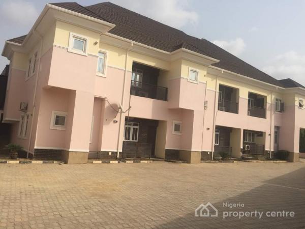 Serviced 4 Bedroom Terrace Duplex, Lifecamp, Along Stella Maris School, Opposite The Magistrate Court, Dape, Abuja, Terraced Duplex for Rent