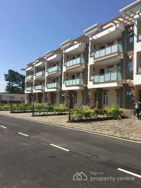 4 Bedroom Terrace Duplex with 1 Room Bq Attached, Off Ademola Adetokunbo Crescent, Wuse 2, Abuja, Terraced Duplex for Rent