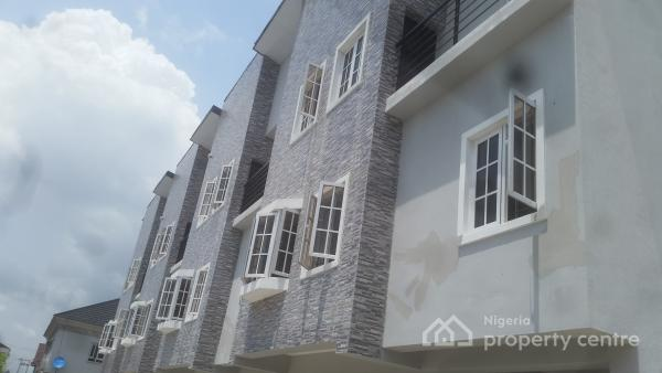 Newly Built 4 Bedroom Terrace House for Sale at Ikate, Ikate Elegushi, Lekki, Lagos, Terraced Duplex for Sale