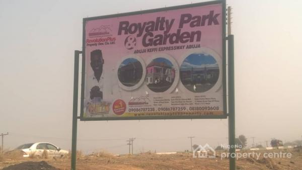 Land, Royal Park Garden, Garki, Abuja, Residential Land for Sale