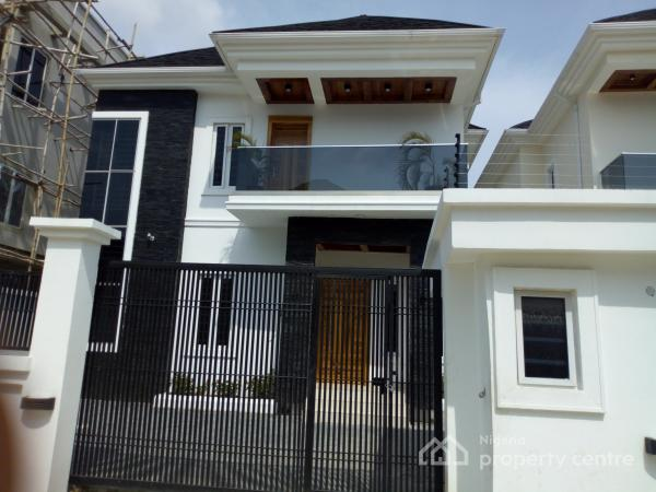 Newly  Built Luxurious 5 Bedroom with Bqs, Osapa, Lekki, Lagos, Detached Duplex for Sale