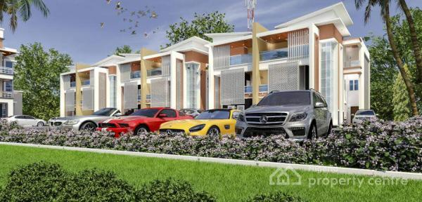 Sterling Courts, Federal Civil Service Commission, Kubwa, Abuja, Semi-detached Duplex for Sale
