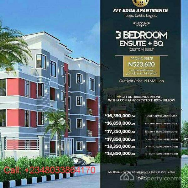 Apartments For Sale: For Sale: 3 Bedroom Apartment [off Plan], Opposite Amen