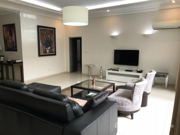 Fully Furnished 3 Bedroom Flat with Excellent Facilities., Ministers Hill, Maitama District, Abuja, Flat for Rent