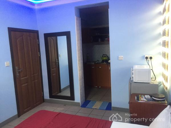 Furnished & Serviced  Studio Apartment with 24hrs Power, Awolowo Road, Falomo, Ikoyi, Lagos, Self Contained (single Rooms) for Rent