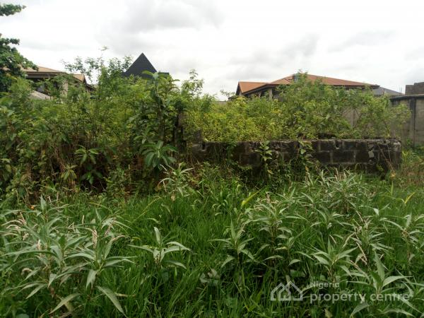 Large Build Able Plot, Parkview Estate, Ago Palace, Isolo, Lagos, Residential Land for Sale