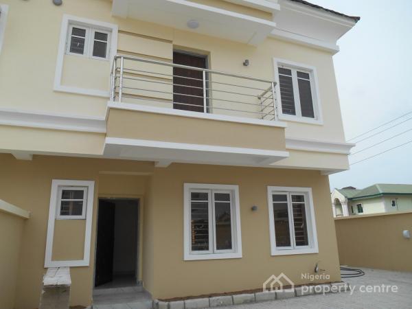 Newly Built 4 Bedroom Terrace Duplex, Ikota Villa Estate, Lekki, Lagos, Terraced Duplex for Sale