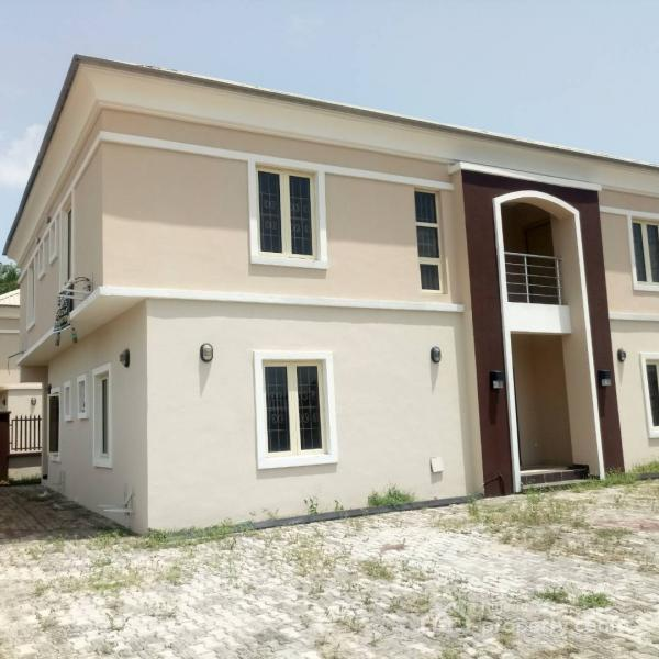 Well Maintained 4 Bedroom Detached House with a Room Bq, Fountain Spring Ville, Sangotedo, Ajah, Lagos, Detached Duplex for Rent
