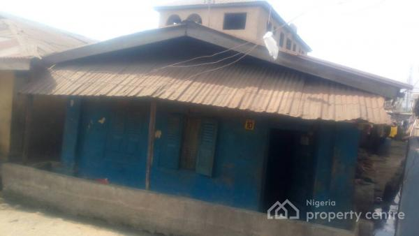 Old Redevelop Able Bungalow, 10, Omitola Street, Off Iju Road, Ifako, Agege, Lagos, Detached Bungalow for Sale