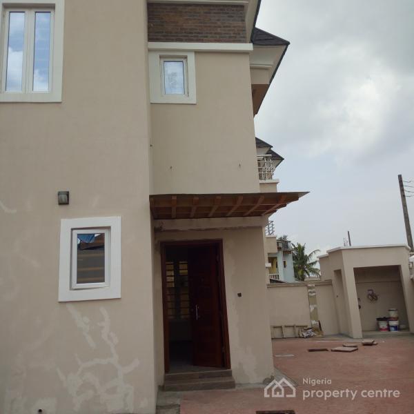 Newly Built 4 Bedroom Detached House with  a Room Boys Quarter, Wale Taiwo Close, Gra, Magodo, Lagos, Detached Duplex for Sale