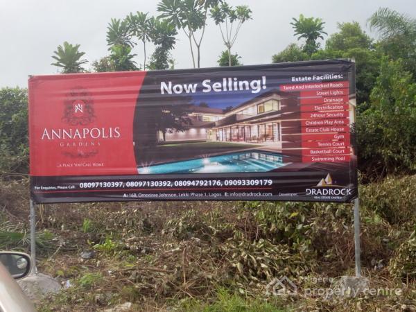 Land in a Luxurious Estate, Alatunse,  Lakowe, Alatise, Ibeju Lekki, Lagos, Residential Land for Sale