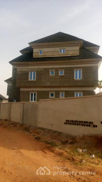 Newly Built Estate of 7 Unit Blocks of 2 Bedroom Flat Each with 1 Room Self Contained, Apo, Abuja, Block of Flats for Sale