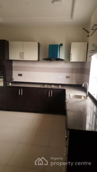 Serviced Sparkling 4 Bedroom Terraced Duplex with a Domestic Quarter + Swimming Pool + Gym, Chisco Bus Stop, Ikate Elegushi, Lekki, Lagos, Terraced Duplex for Sale