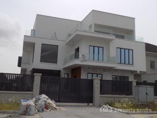 Tastefully Finished 5 Bedroom Duplex with Cinema Room, Pinnock Beach Estate, Osapa, Lekki, Lagos, Detached Duplex for Sale