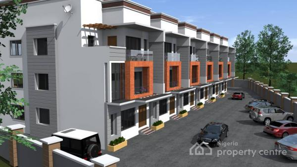 Luxury 5 Bedroom Terrace Duplex, Ngwa Close, Off Olufunmilayo Ransom Kuti, Area 3, Garki, Abuja, Terraced Duplex for Sale