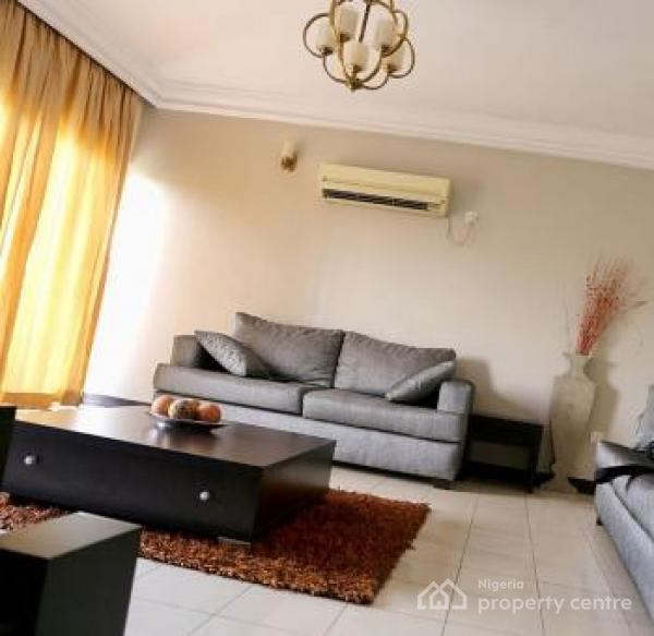 Waterfront 3 Bedroom Luxury Apartment, Awolowo Towers, 17a Awolowo Road, By Firs Office, Falomo, Ikoyi, Lagos, Flat Short Let