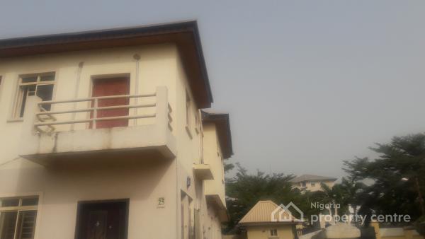 4 Bedroom Terrace Duplex with Bq, Off Shoprite, By Jabi Lake Mall, Jabi, Abuja, Terraced Duplex for Rent