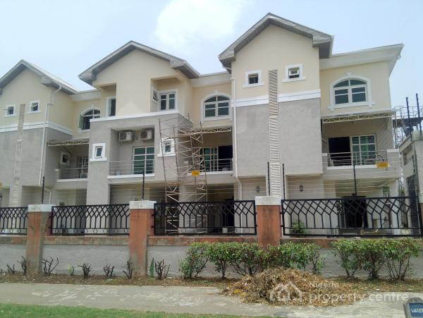 Serviced and Tastefully Finished 3 Bedroom Terraced House with a Room Servant Quarters, Apo, Abuja, Terraced Duplex for Rent