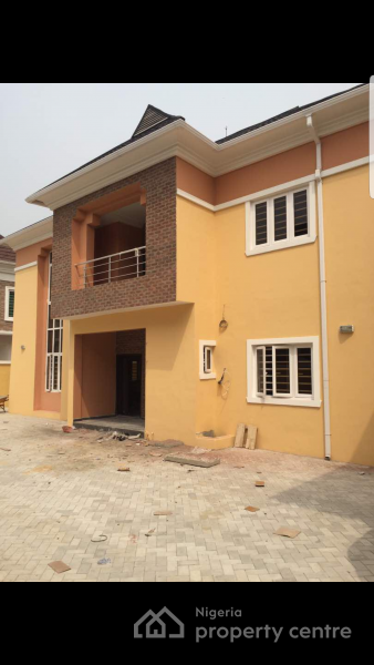 Luxury 5 Bedroom Fully Detached Duplex, Pioneer Takeoff Road, Can Be Accessed From The Road Opposite Victory Park, Osapa, Lekki, Lagos, Detached Duplex for Sale
