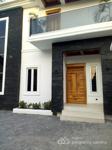 Newly Built and Well Finished with Pop Finishing and Architectural Design 5 Bedroom Detached Duplex, Kazeem Eletu, Osapa, Lekki, Lagos, Detached Duplex for Sale