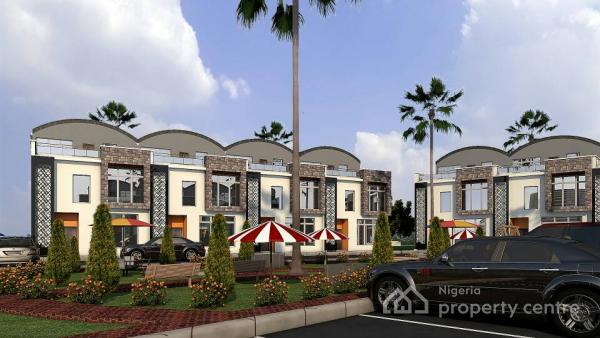 Luxury 4 Bedroom Terrace Duplex, Guzape, Guzape District, Abuja, Terraced Duplex for Sale
