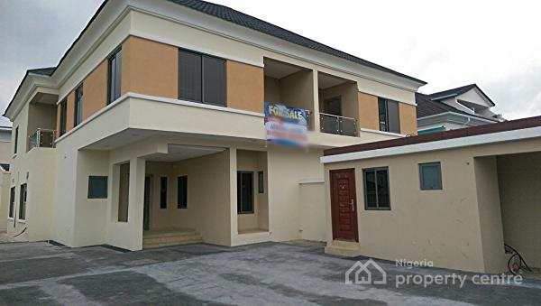 Newly Built Four Bedroom Semi Detached House with Bq, Pinnock Beach Estate, Osapa, Lekki, Lagos, Semi-detached Duplex for Sale
