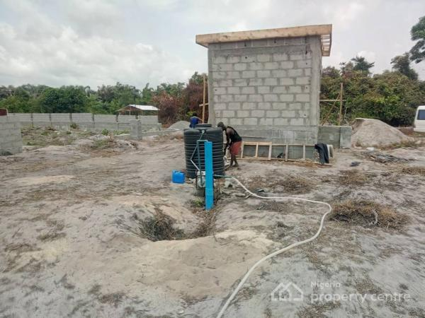a Dry Land, Edge Villa Estate, Behind Amen Estate, Eleko, Off Lekki Expressway, Eleko, Ibeju Lekki, Lagos, Residential Land for Sale