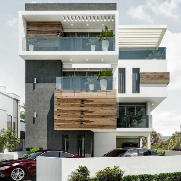 Off Plan Sales of Premium Luxury 6 Bedroom Fully Detached Waterfront House, Banana Island, Ikoyi, Lagos, Detached Duplex for Sale