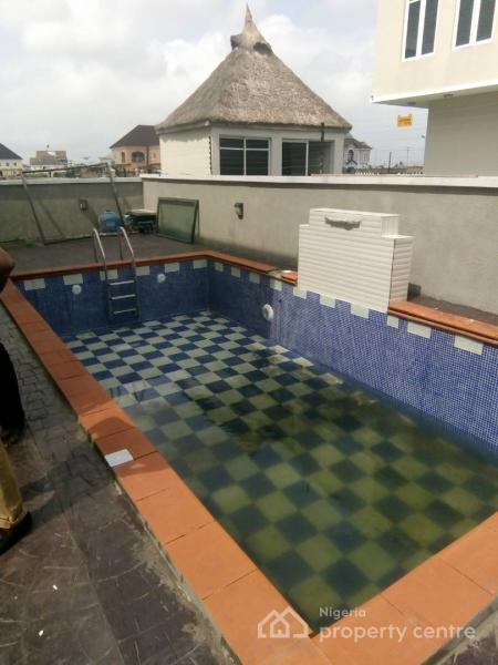 Brand New 5 Bedroom Duplex with Pool, Pinnock Beach Estate, Osapa, Lekki, Lagos, Detached Duplex for Sale