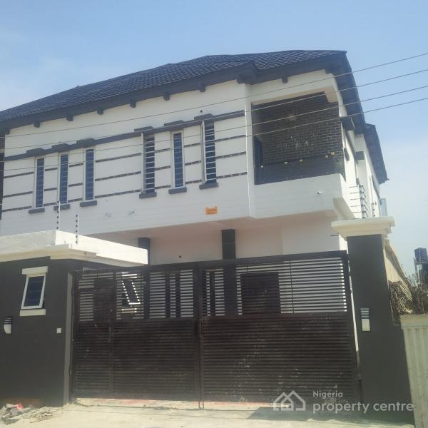 New and Exquisitely Finished Duplexes Tastefully Finished with Bq, Chevron Conservation, Lekki Expressway, Lekki, Lagos, Semi-detached Duplex for Sale