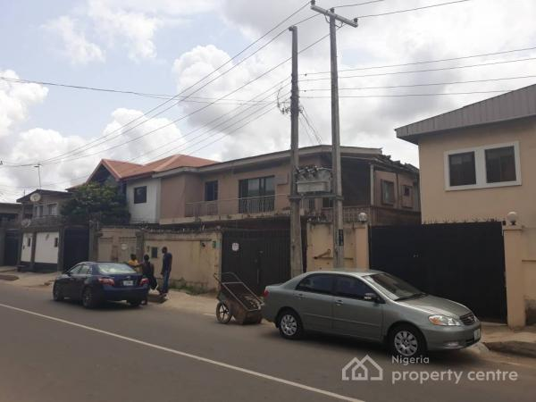 2 Wings of 5 Bedroom Semi Detached Duplex with Bq Each, Itolo Street, Eric Moore, Surulere, Lagos, Detached Duplex for Sale