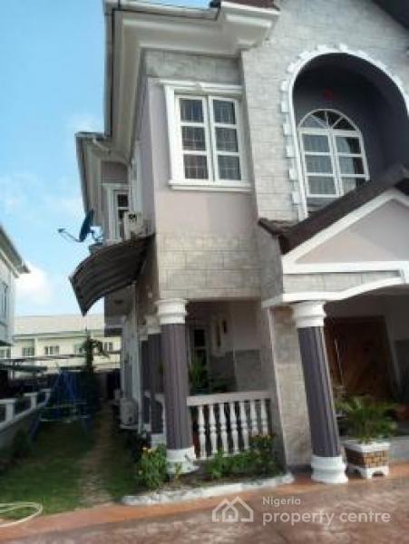 6 Bedroom Fully Detached House (ocean View) with a 1 Room Bq, Pinnock Beach Estate, Osapa, Lekki, Lagos, Detached Duplex for Sale