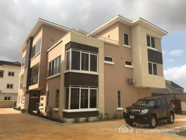 Well Finished 5 Bedroom Semi Detached Twin Duplex, Arcadia Grove Estate, Lekki, Lagos, Semi-detached Duplex for Rent