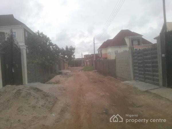 a Plot of Land (half Fenced), Folarin White House Close, Navy Town, Magbon, Badagry, Lagos, Mixed-use Land for Sale