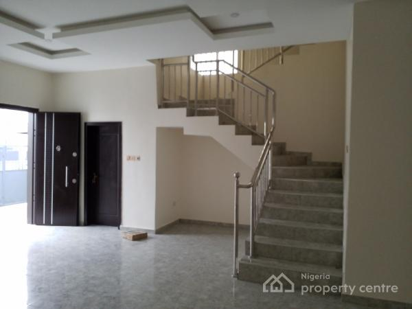 Brand New Luxuriously Finished 4 Detached House with B/q, Chevron Alternative Road, Lekki, Lagos, Detached Duplex for Sale