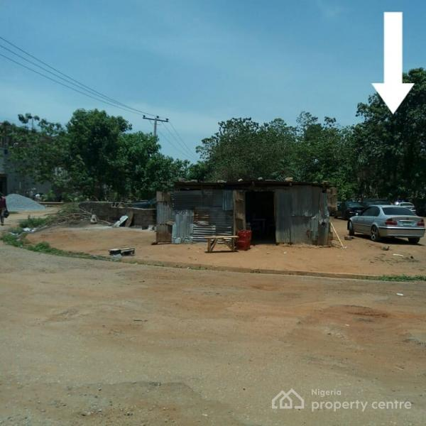 a Strategically Located Corner Piece Plot, Apo Dutse, Just About 80meters Off The Express Connecting Apo & Gudu Districts, Apo, Abuja, Residential Land for Sale