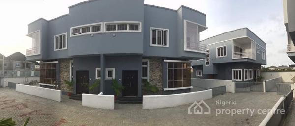 4 Units of Beautifully Finished 4 Bedroom Semi Detached Duplex for Sale in Idao, Lekki., Idado, Lekki, Lagos, Semi-detached Duplex for Sale