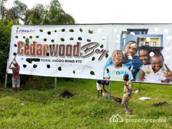 100% Dry Plots of Land with Good Title Excision Imagbon, Ibeju Lekki - Cedarwood Bay, Imagbon Alade, Along Lftz Road, Akodo Ise, Ibeju Lekki, Lagos, Residential Land for Sale
