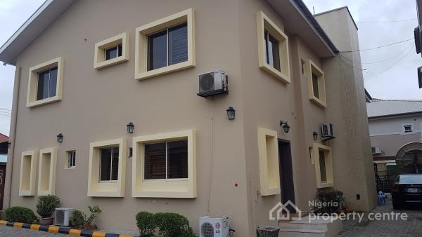 Well Built 4 Units of 4 Bedroom Wing of Duplex + Service Quarter on Large Grounds, Lekki Phase 1, Lekki, Lagos, Office Space for Rent
