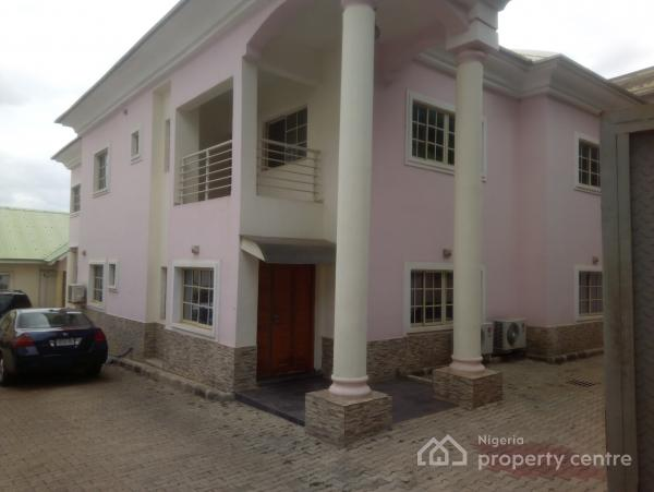 6 Bedroom Duplex +3 Bedroom Guest Chalet. for Official Or Residential Use., Jabi, Abuja, Detached Duplex for Rent