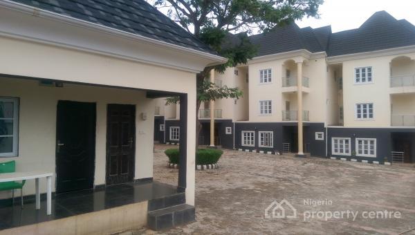 Luxury 6 Units of 4 Bedroom Terrace Duplex with One Room Bq Each, Behind American International School, Durumi, Abuja, Terraced Duplex for Sale