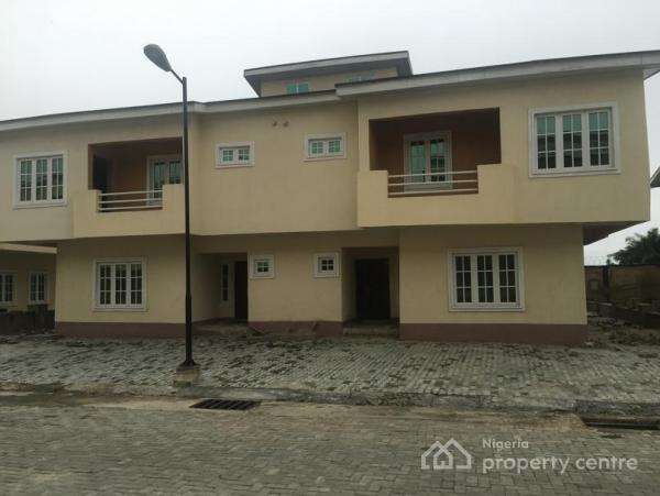 4 Bedroom Semi Detached Duplex (carcass) for Sale in Lekki Gardens Phase 5 Estate, Phase 5, Lekki Gardens Estate, Ajah, Lagos, Semi-detached Duplex for Sale