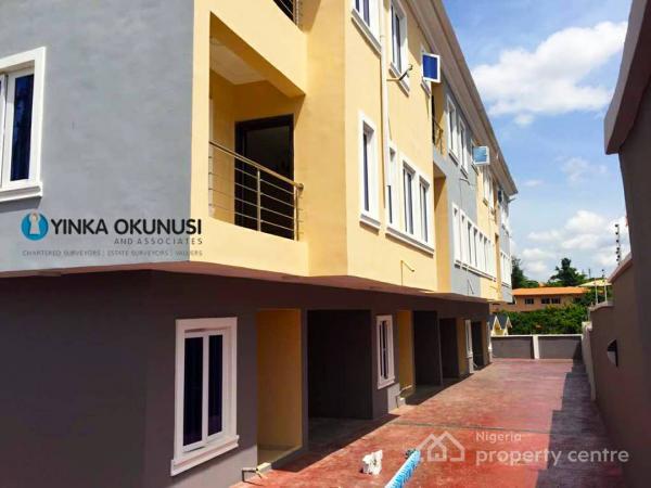 Luxury 4 Bedroom Duplex with Room Bq, Omole Phase 1, Ikeja, Lagos, Terraced Duplex for Sale
