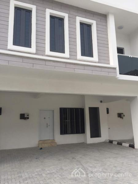 Newly Built Serviced 3 Bedroom Terrace House, Victoria Crest Estate, Orchid Road, Off Lekki 2nd Toll Gate, Lekki Expressway, Lekki, Lagos, Terraced Duplex for Rent
