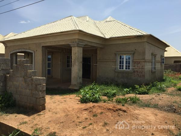 80% Completed 3 Bedroom Detached Bungalow, Off Sunnyvale, Dakwo, Abuja, Detached Bungalow for Sale