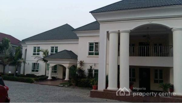Duplex  8 Spacious Bedroom Each En Suite, Size of Land : 2000 Sqm,  C of O,  1 Home Office,  5 Living Rooms, Aso  Drive, Asokoro District, Abuja, Detached Duplex for Sale