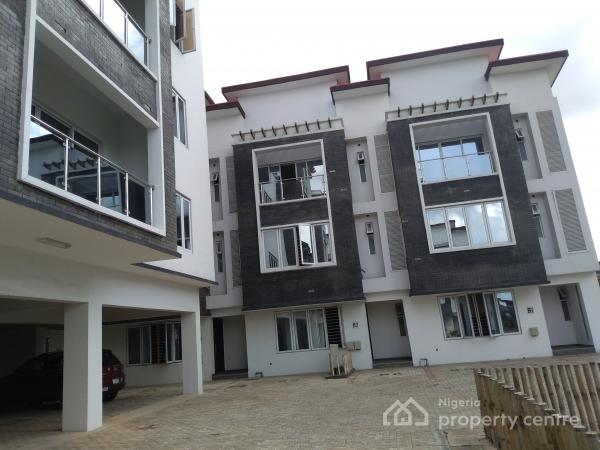 Newly Built and Luxury 4 Bedroom Terrace Duplex in an Estate, Iponri, Surulere, Lagos, Terraced Duplex for Sale