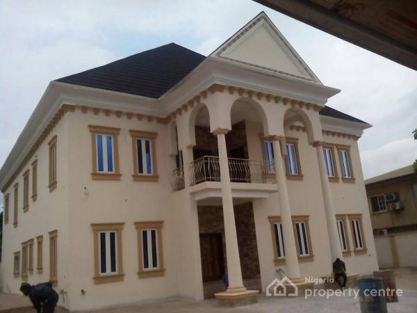 Newly Built 6 Bedroom Mansion with 2 Rooms Bq and a Swimming Pool, Omole Phase 2, Ikeja, Lagos, House for Sale