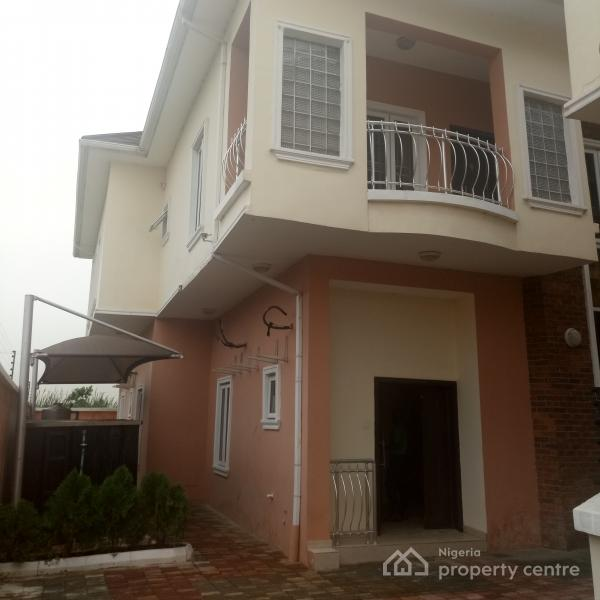 Tastefully Well Finished Brand New 4 Bedroom Semi Detached with Bq, Ikate Elegushi, Lekki, Lagos, Semi-detached Duplex for Rent